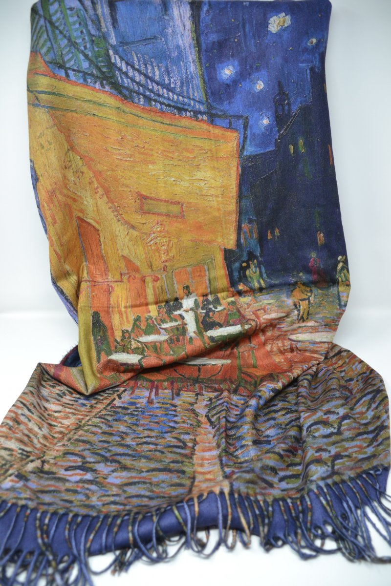 Sciarpa Stola Il Bacio Di Gustav Klimt